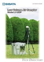 "Low Volume Air Sampler ""LV-20P"""