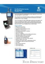 "Handheld Particle Counter ""Model P611"""