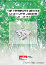 High Performance Electrical Double Layer Capacitor DMT Series