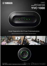 "Unified Communications Microphone & Speaker System ""YVC-1000"""