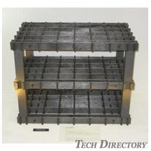 Heat Treatment:  Heat treatment tray made of C/C composite