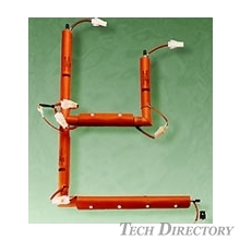 【Heaters for tubular form heating】Gas Line Heaters