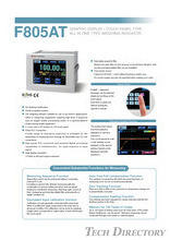 LCD Touch Panel Display All-in-One Type Weighing Controller  F805AT