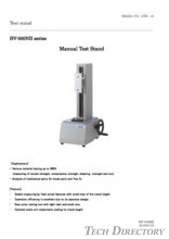 "Vertical manual test stand""HV-500NIIII Series"""