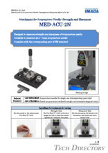 "Acupuncture needle strength and sharpness test attachment ""MED-ACU-2N"""