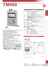"TORQUE MONITOR FOR UTMⅡ/UTMV ""TM400"""
