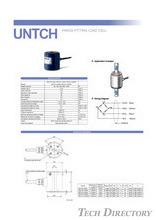 PRESS FITTING LOAD CELL UNTCH 5kN~100kN