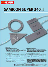 【Silicone Rubber Heaters】Samicon Super 340Ⅱ