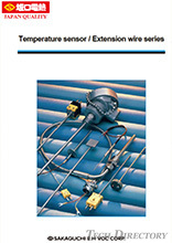 【Control Equipment】Temperature sensor / Extension wire series