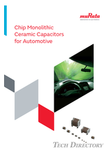 Chip Monolithic Ceramic Capacitors for Automotive
