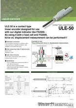 "Linear Encoder ""ULE-50"" (Contact Type)"