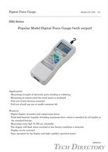 Popular Model Digital Force Gauge (with output) DS2 Series