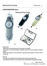 Mechanical Force Gauge FB series