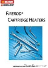 【Heaters for mold heating】FIRERODR Cartridge Heaters