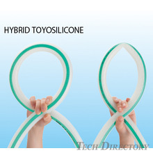 HYBRID TOYOSILICONE HOSE Heat-resistant and pressure-resistant for the food industry