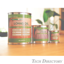 [LOHAS material] Japanese natural paints (oil based) LOHAS OIL 【International distributors Wanted】