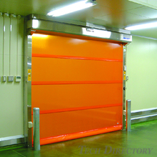 "HACCP compatible products High speed roll up door ""Smoother"""